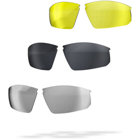BBB Impress Sports Glasses matt neon yellow/smoke